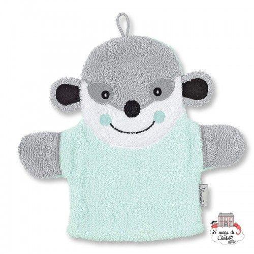 Washcloth handpuppet - Elvis the suricate - STE-7221622-421 - Sterntaler - Washcloths, towel, cape, etc ... - Le Nuage de Cha...