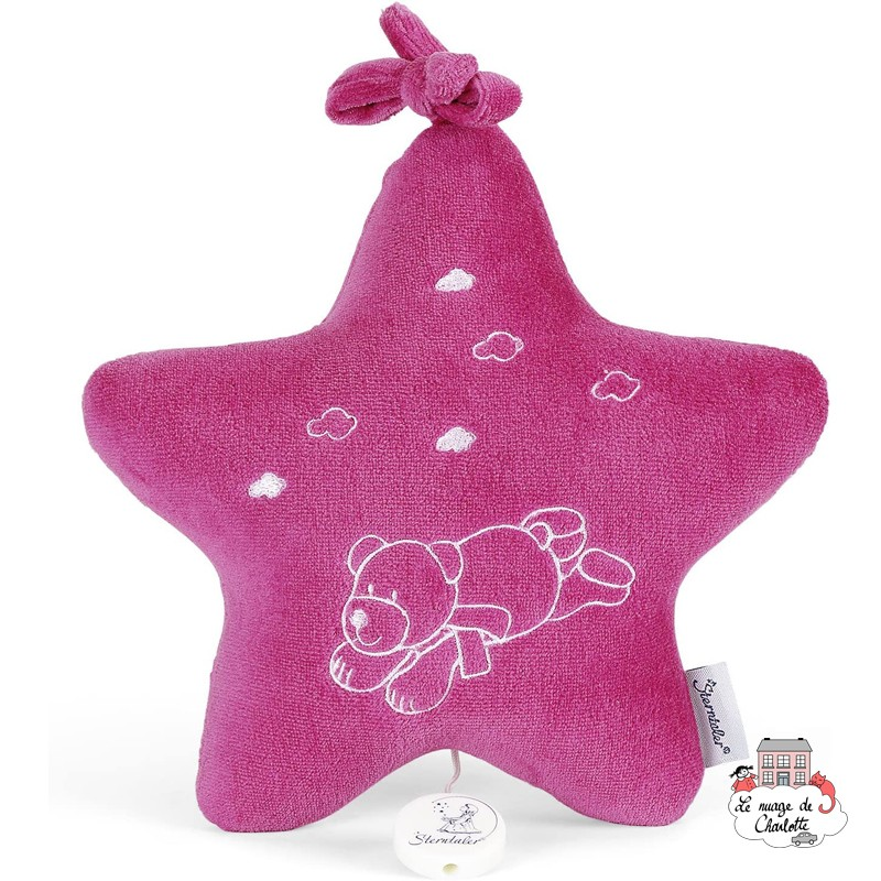 Musical star Ella the Bear - STE-6051508 - Sterntaler - Musical comforter - Le Nuage de Charlotte