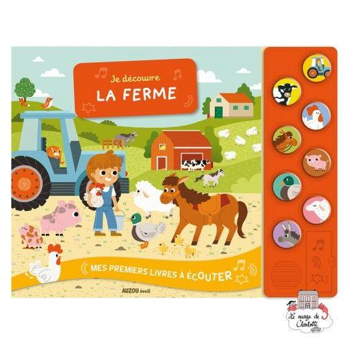 Je découvre la ferme - AUZ-9782733833643 - Editions Auzou - Preschool - Le Nuage de Charlotte