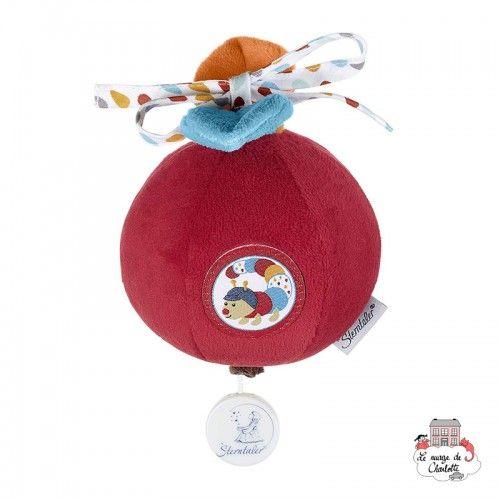 Musical soft toy Rudi the centipede - STE-6001733 - Sterntaler - Musical comforter - Le Nuage de Charlotte