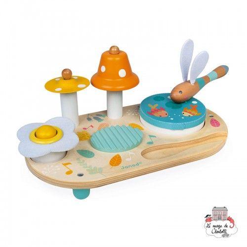Pure Musical Table - JAN-J05164 - Janod - Musical Instruments - Le Nuage de Charlotte