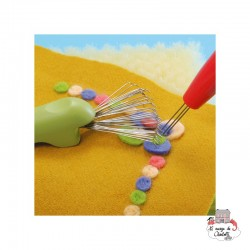 3 in 1 tool for Felting - CLV-8919 - Clover - Felting - Le Nuage de Charlotte