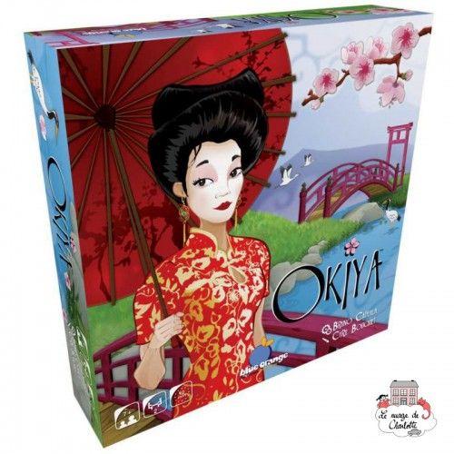 Okiya - BOR-00497 - Blue Orange - Board Games - Le Nuage de Charlotte