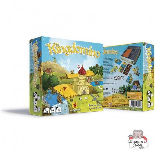 Kingdomino - BOR-00375 - Blue Orange - Board Games - Le Nuage de Charlotte
