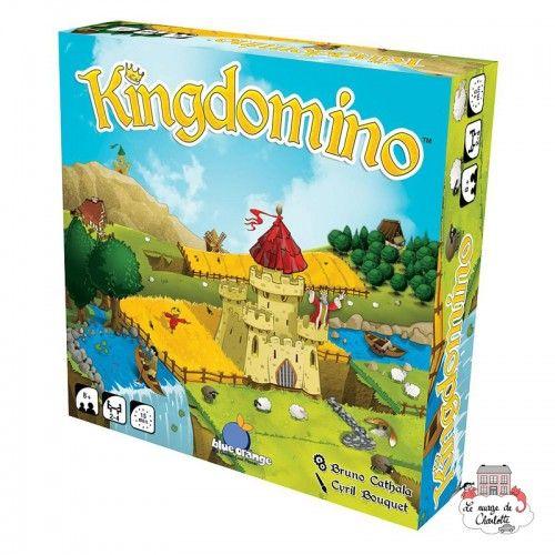 Kingdomino - BOR-00375 - Blue Orange - Jeux de société - Le Nuage de Charlotte