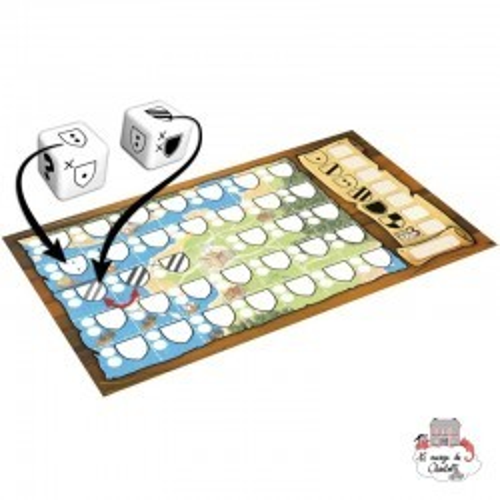 Kingdomino Duel - BOR-00914 - Blue Orange - Board Games - Le Nuage de Charlotte