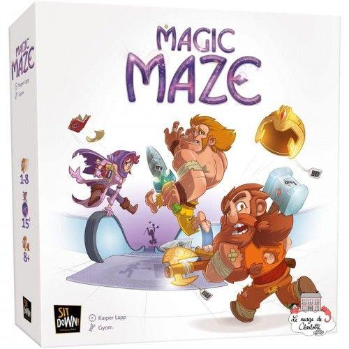 Magic Maze - SIT-00447 - Sit-Down! - Jeux de société - Le Nuage de Charlotte