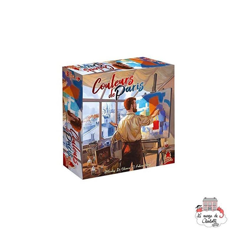 Couleurs de Paris - SME-00801 - Super Meeple - Board Games - Le Nuage de Charlotte