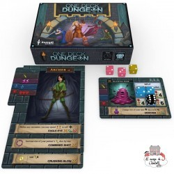 One Deck Dungeon - NUT-00794 - Nuts - Board Games - Le Nuage de Charlotte