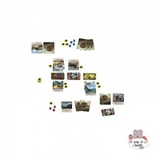 Twelve Heroes - CUP-00663 - Nuts - Board Games - Le Nuage de Charlotte