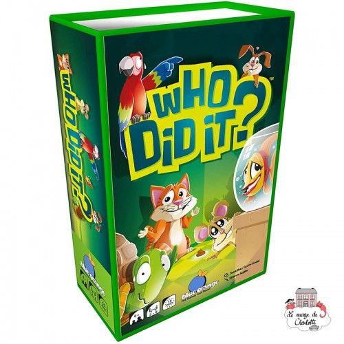 Who Did It? - BOR-00660 - Blue Orange - Board Games - Le Nuage de Charlotte