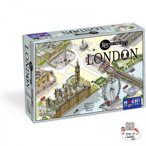 Key to the City - London - HUC-00528 - Les Jeux du Lac - Jeux de société - Le Nuage de Charlotte