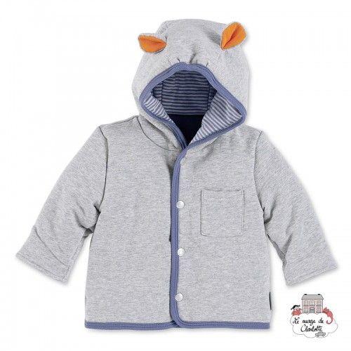 Hooded Jacket Norbert the Hipp - STE-2621620-513 - Sterntaler - Jackets - Le Nuage de Charlotte
