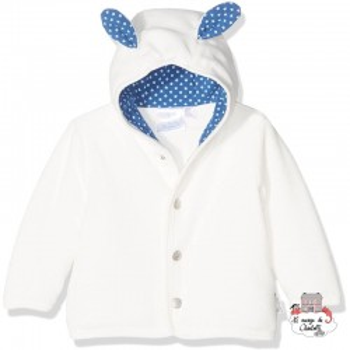 Hooded Jacket Stanley the Sheep - STE-5611628-903 - Sterntaler - Jackets - Le Nuage de Charlotte
