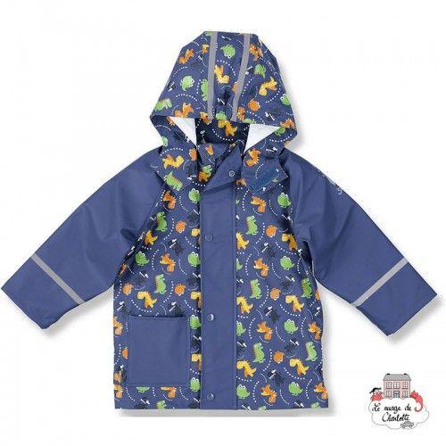 Waterproof rain jacket Dinosaurs - STE-5651601-366 - Sterntaler - Jackets - Le Nuage de Charlotte