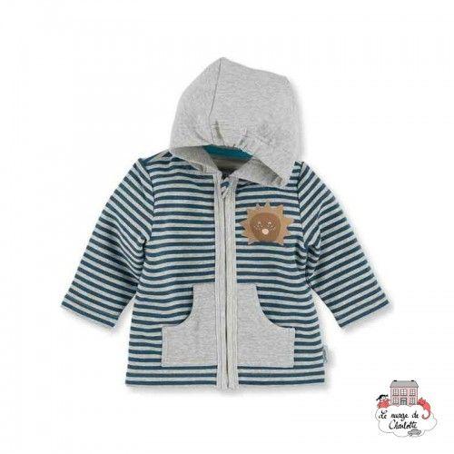 Hooded Jacket Leo the Lion - STE-2621623-364 - Sterntaler - Jackets - Le Nuage de Charlotte