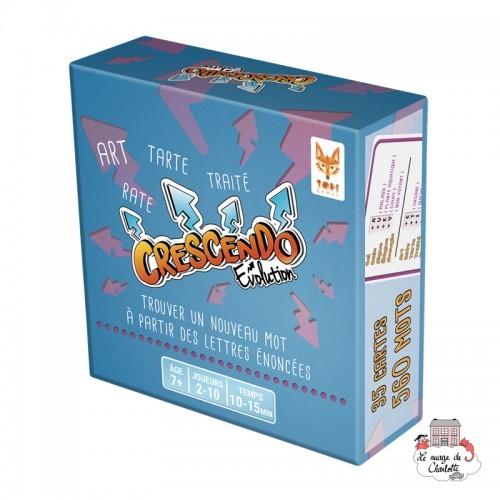 Crescendo Evolution - TOP-TOPI91216 - Topi Games - Board Games - Le Nuage de Charlotte