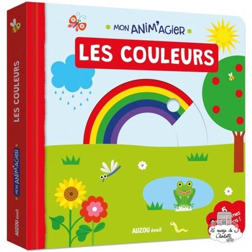 Mon Anim'agier - Les couleurs - AUZ-9782733847015 - Editions Auzou - Preschool - Le Nuage de Charlotte