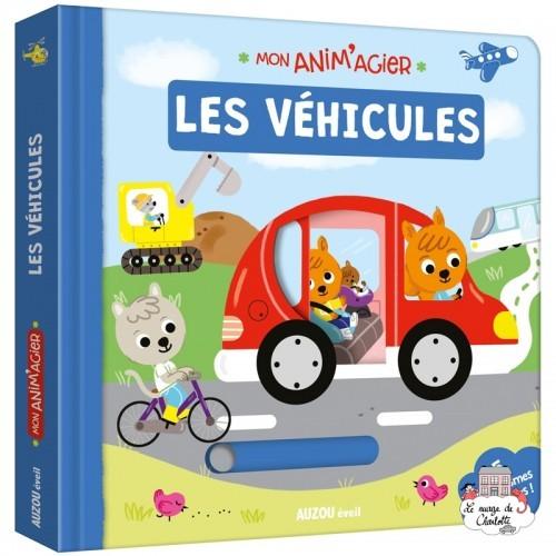 Mon Anim'agier - Les véhicules - AUZ-9782733846988 - Editions Auzou - Preschool - Le Nuage de Charlotte