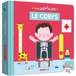 Mon Anim'agier - Le corps - AUZ-9782733847008 - Editions Auzou - Imagiers / Éveil - Le Nuage de Charlotte