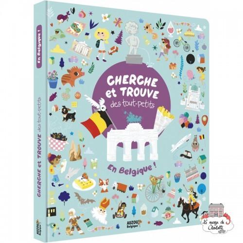 Cherche et trouve des tout-petits en Belgique ! - AUZ-9782733873601 - Editions Auzou - Activity Books - Le Nuage de Charlotte