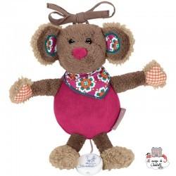 Musical soft toy Mabel the mouse - STE-6001401 - Sterntaler - Musical comforter - Le Nuage de Charlotte