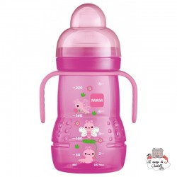 MAM Baby Bottle TRainer+ (220 ml) - MAM-3916764a - MAM - Baby Bottles and accessories - Le Nuage de Charlotte