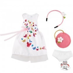 Kruselings Summer Festival Outfit - KKE-0126867 - Käthe Kruse - Kruselings dolls - Le Nuage de Charlotte