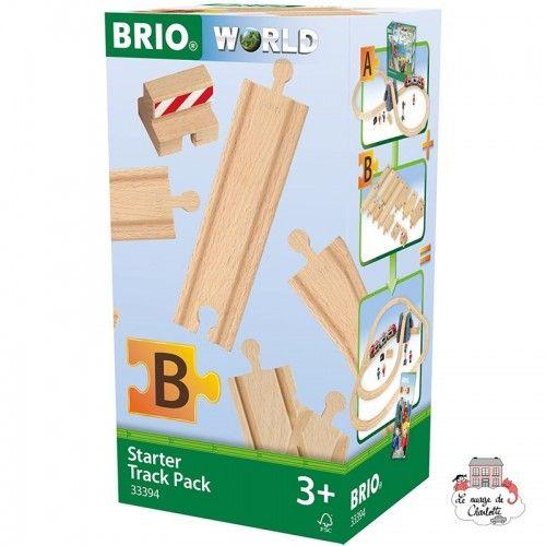 Starter Track Pack - Pack B - BRI-33394 - Brio - Wooden Railway and Trains - Le Nuage de Charlotte