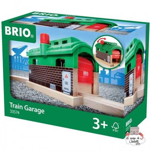 Train Garage - BRI-33574 - Brio - Wooden Railway and Trains - Le Nuage de Charlotte