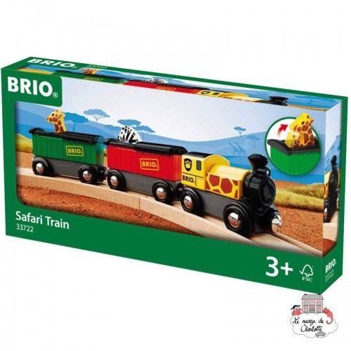 Safari Train - BRI-33722 - Brio - Wooden Railway and Trains - Le Nuage de Charlotte