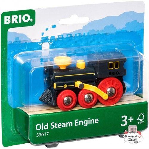 Old Steam Engine - BRI-33617 - Brio - Wooden Railway and Trains - Le Nuage de Charlotte