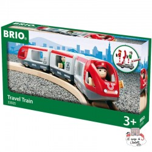 Travel Train - BRI-33505 - Brio - Wooden Railway and Trains - Le Nuage de Charlotte