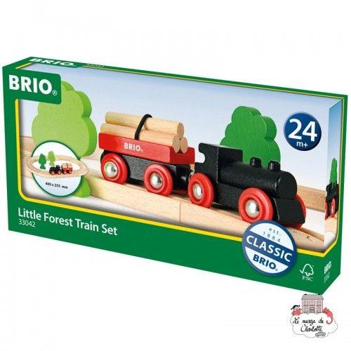 Little Forest Train Set - BRI-33042 - Brio - Wooden Railway and Trains - Le Nuage de Charlotte