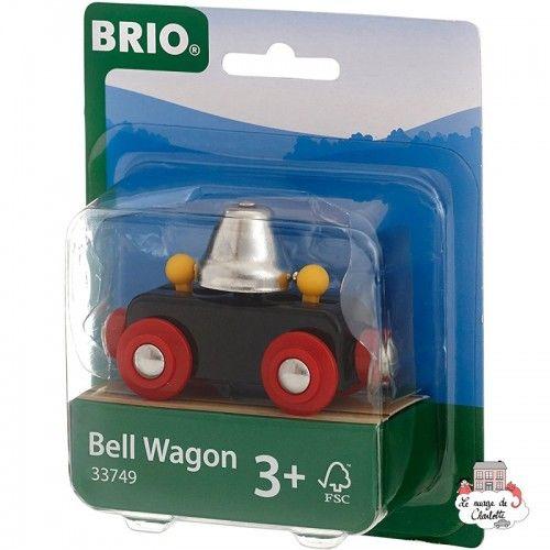 Bell Wagon - BRI-33749 - Brio - Wooden Railway and Trains - Le Nuage de Charlotte