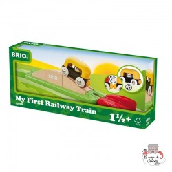 My First Railway Ramp Pack - BRI-33728 - Brio - Wooden Railway and Trains - Le Nuage de Charlotte