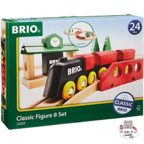 Classic Figure 8 Set - BRI-33028 - Brio - Wooden Railway and Trains - Le Nuage de Charlotte