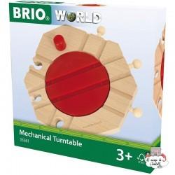 Mechanical Turntable - BRI-33361 - Brio - Wooden Railway and Trains - Le Nuage de Charlotte