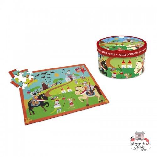 Knight's Battle Puzzle - SCR-6181089 - Scratch - For littles - Le Nuage de Charlotte