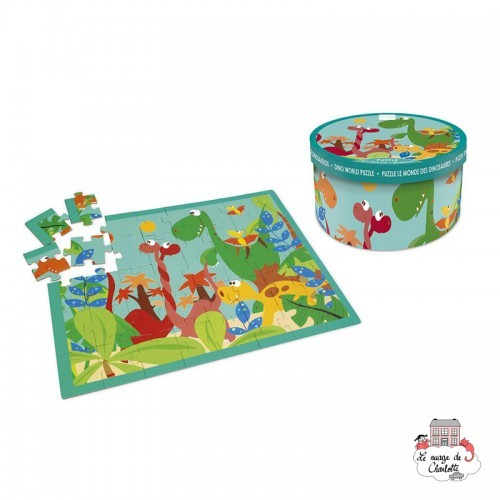 Dino World Puzzle - SCR-6181091 - Scratch - For littles - Le Nuage de Charlotte
