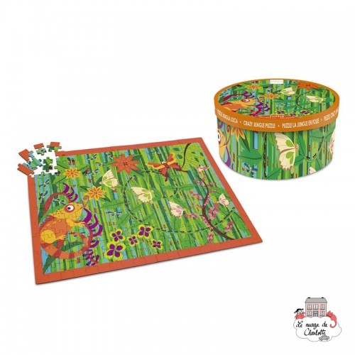 Crazy Jungle Puzzle - SCR-6181095 - Scratch - 200 pieces - Le Nuage de Charlotte