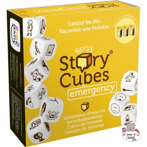 Rory's Story Cubes - emergency - ZYG-CAR0132 - Zygomatic - Board Games - Le Nuage de Charlotte