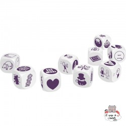 Rory's Story Cubes - mystery - ZYG-CAR0104 - Zygomatic - Board Games - Le Nuage de Charlotte