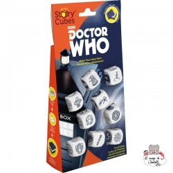 Rory's Story Cubes - Doctor Who - ZYG-CAR0083 - Zygomatic - Board Games - Le Nuage de Charlotte