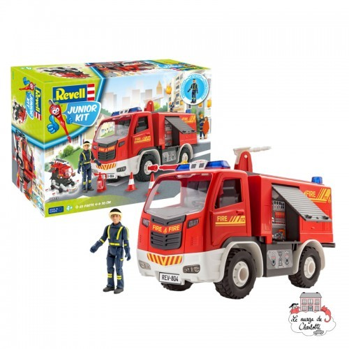 Junior Kit - Fire Truck - REV-00819 - Revell - Kit to assemble - Le Nuage de Charlotte