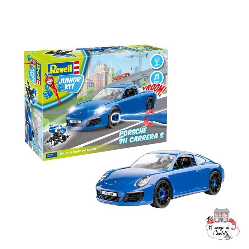 Junior Kit - Porsche 911 Carrera S - REV-00821 - Revell - Toys to assemble - Le Nuage de Charlotte