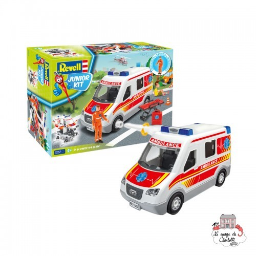 Junior Kit - Ambulance - REV-00824 - Revell - Kit to assemble - Le Nuage de Charlotte