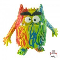 Colour Monster - Multicolor monster - COM-Y90091 - Comansi - Figures and accessories - Le Nuage de Charlotte