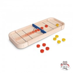 2-in-1 Shuffleboard Game - PLT-4626 - PlanToys - for the little ones - Le Nuage de Charlotte