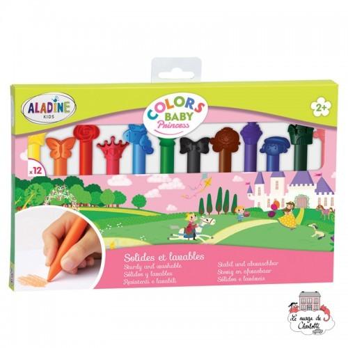 Colors Baby - Princess - ALA-42034 - AladinE - Supplies - Le Nuage de Charlotte